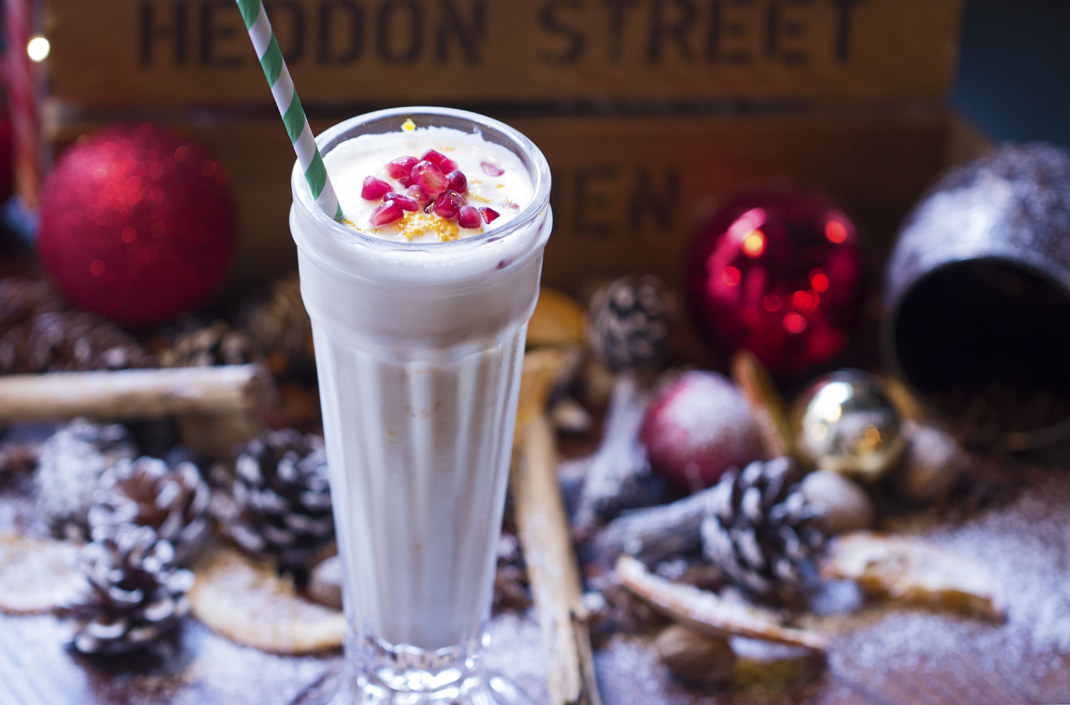 Christmas Pudding Hardshake - Heddon Street Kitchen