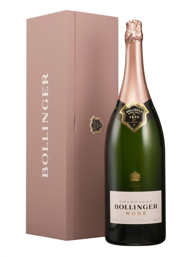 Bollinger Rosé NV Jeroboam, £279.99