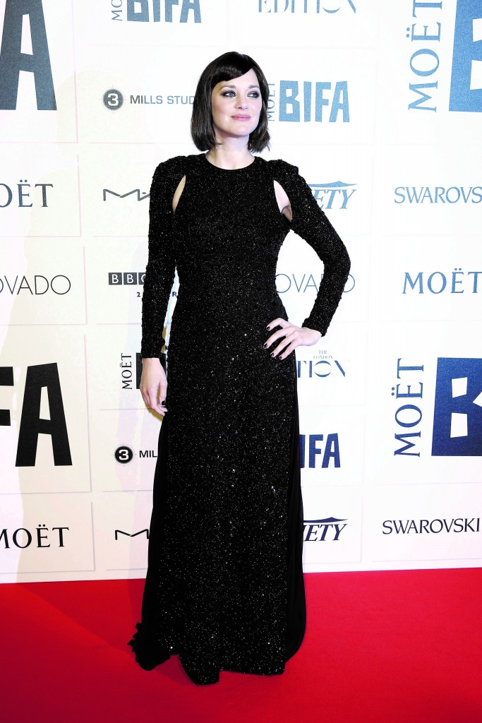 Marion Cotillard in Dior at Moët British Independent Film Awards
