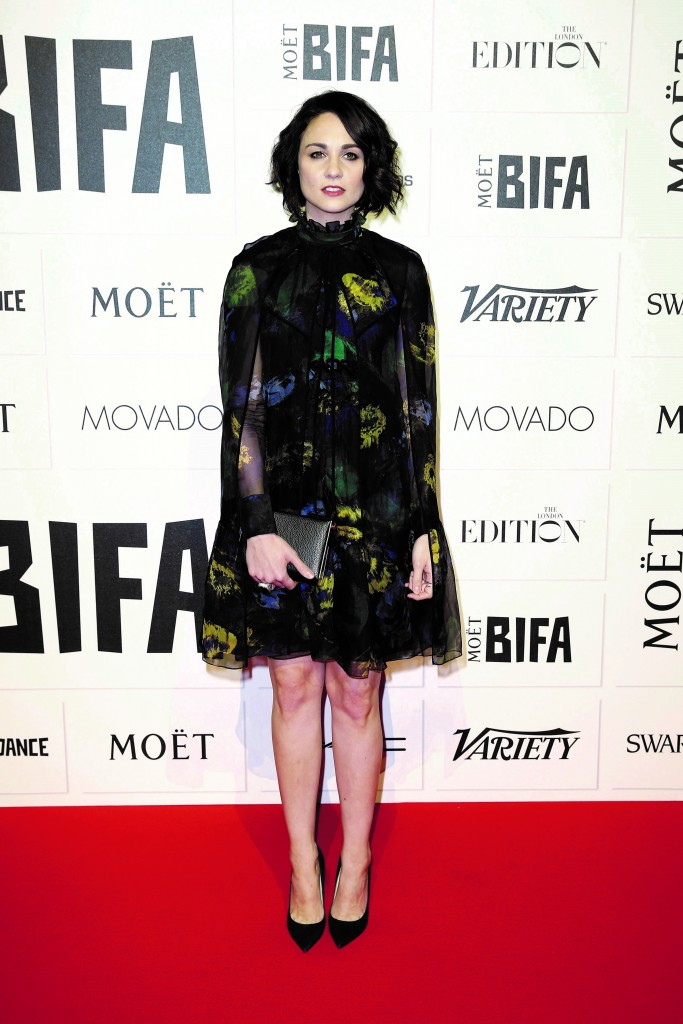 Tuppence Middleton in Erdem at Moët British Independent Film Awards
