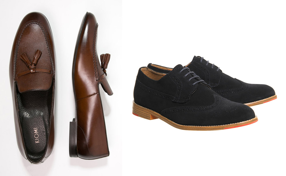 Zalando - Kiomi Brown Slip-ons, £60 & Office - Brogues, £59.99