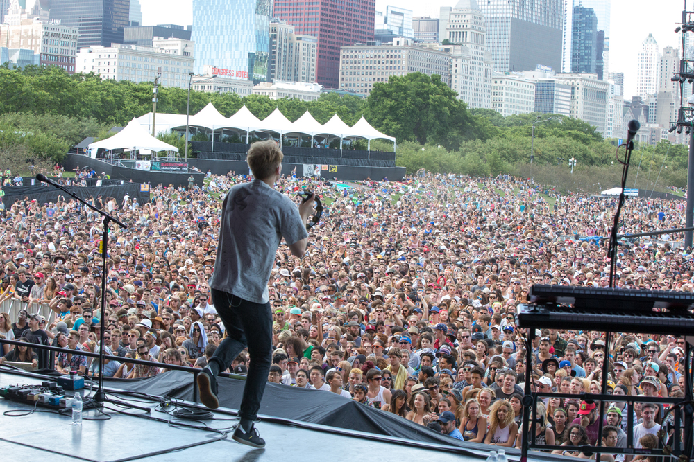 Glass Animals. Lollapalooza 2015 by Mary Ashton Ellis