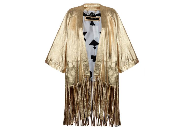 Pocket - Gold Kimono