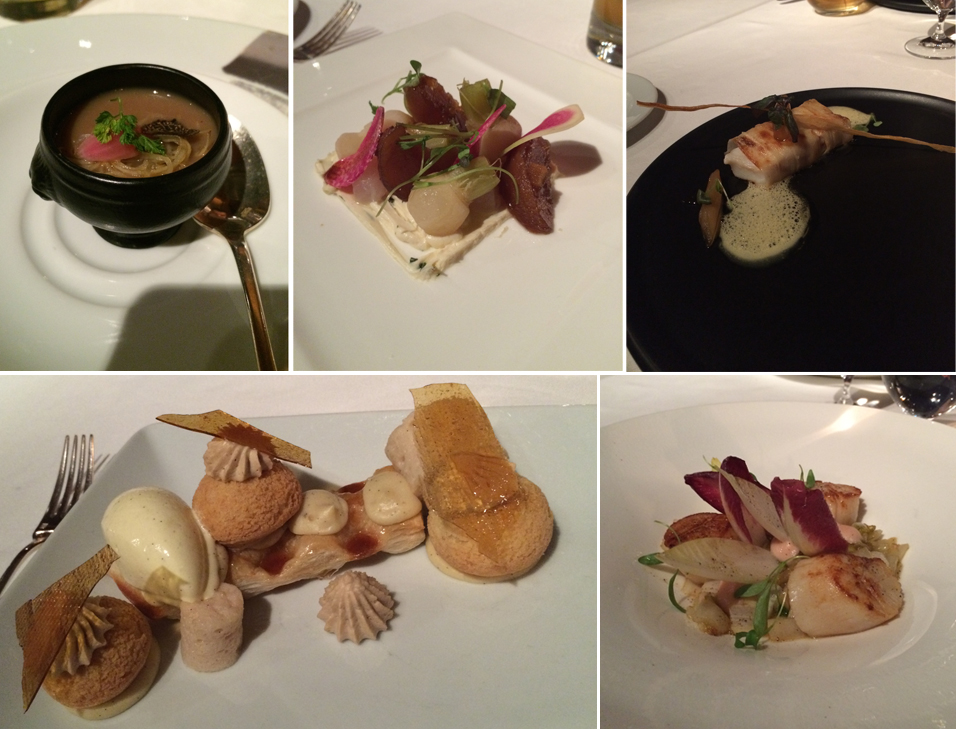 Five Course Meal by Louis Pacquelin | Panache, Auberge Saint-Antoine