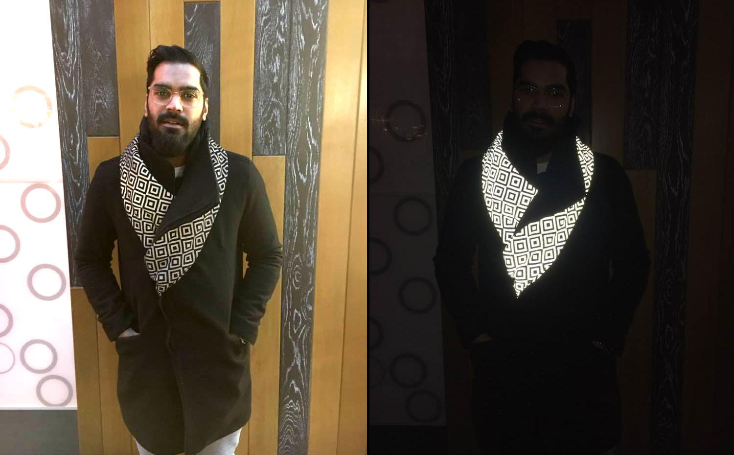 Saif Siddiqui wears the ISHU