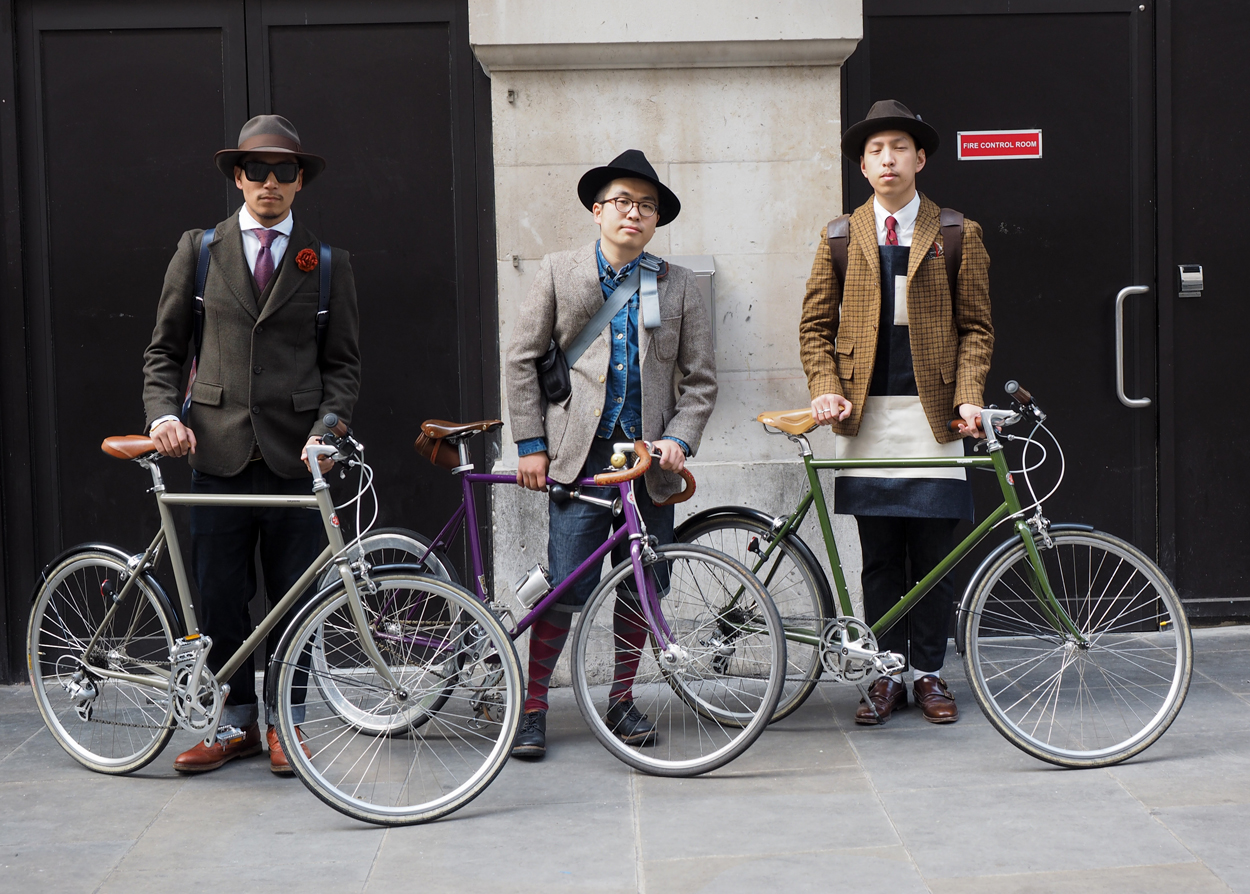 The Tweed Run London 2014 - Photo by Matt Shaw