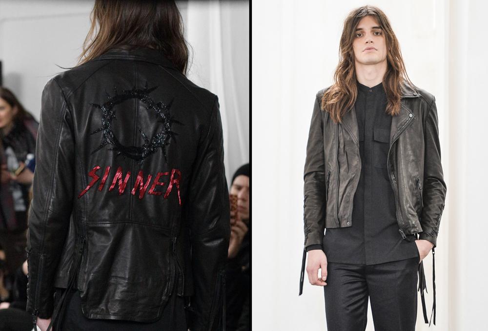 Jean//phillip Sinner Jacket AW17