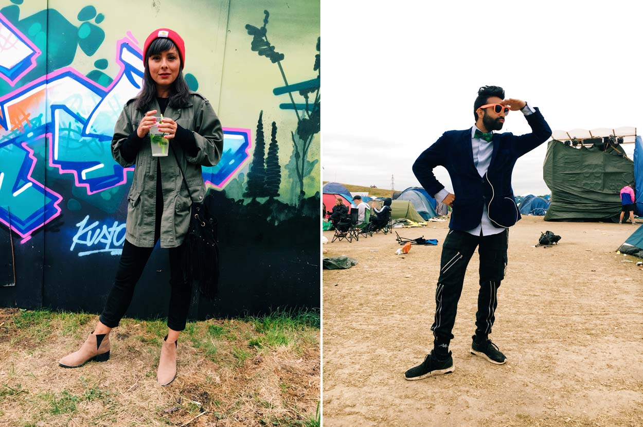 Festival Style at Roskilde 2017 - Carolina & Kir