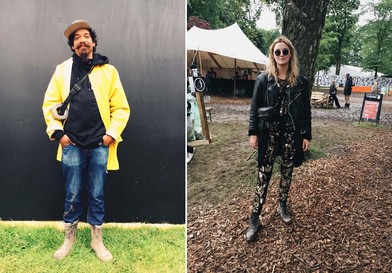 Festival Style at Roskilde 2017 - Carsten & Laura Sofie