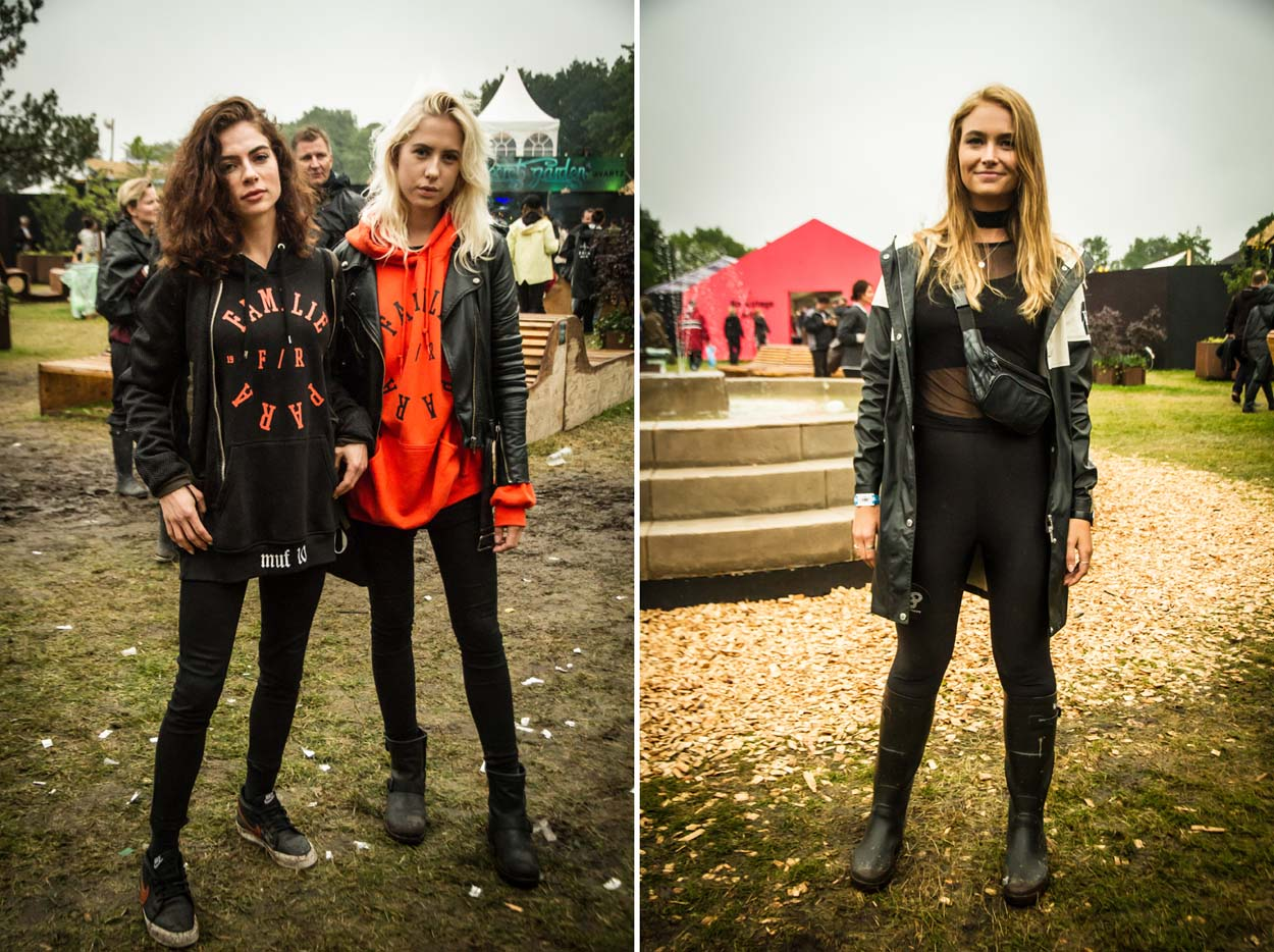 Festival Style at Roskilde 2017 - Katerina (left) & Michala