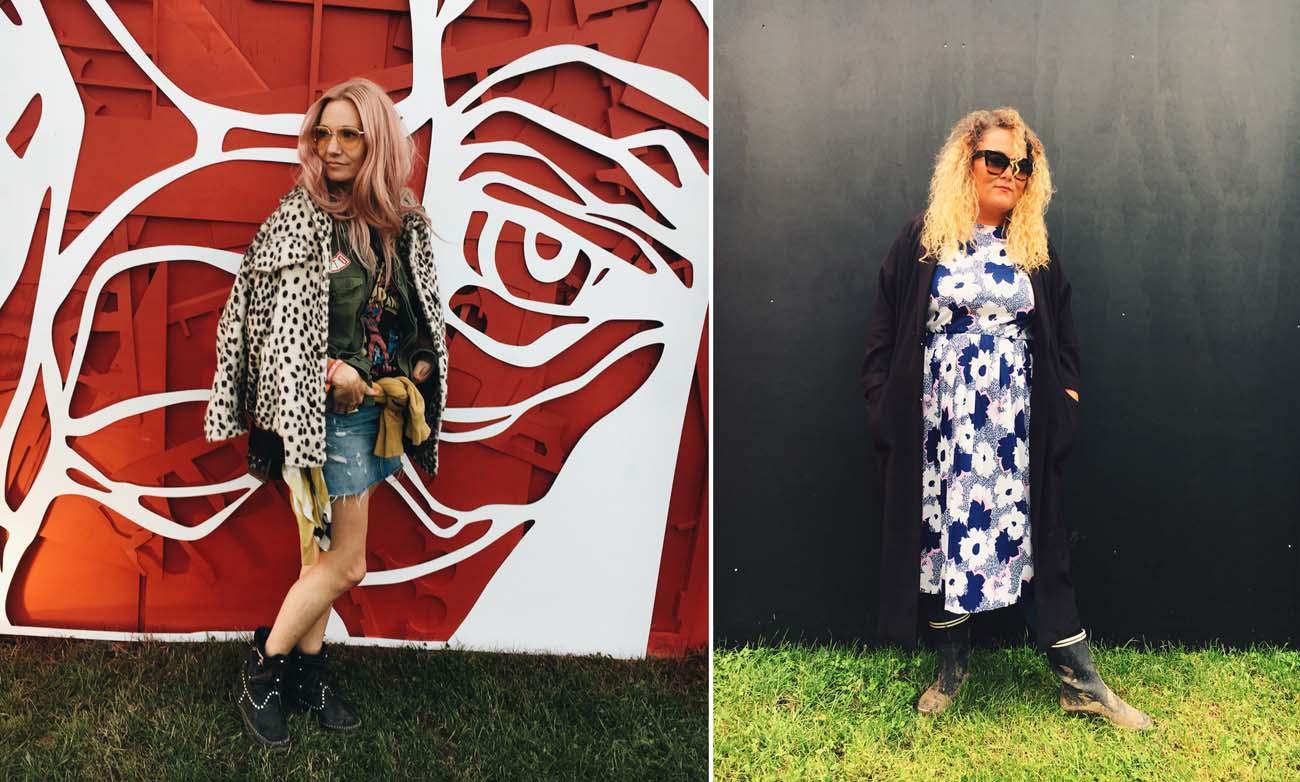 Festival Style at Roskilde 2017 - Lulu & Hannah