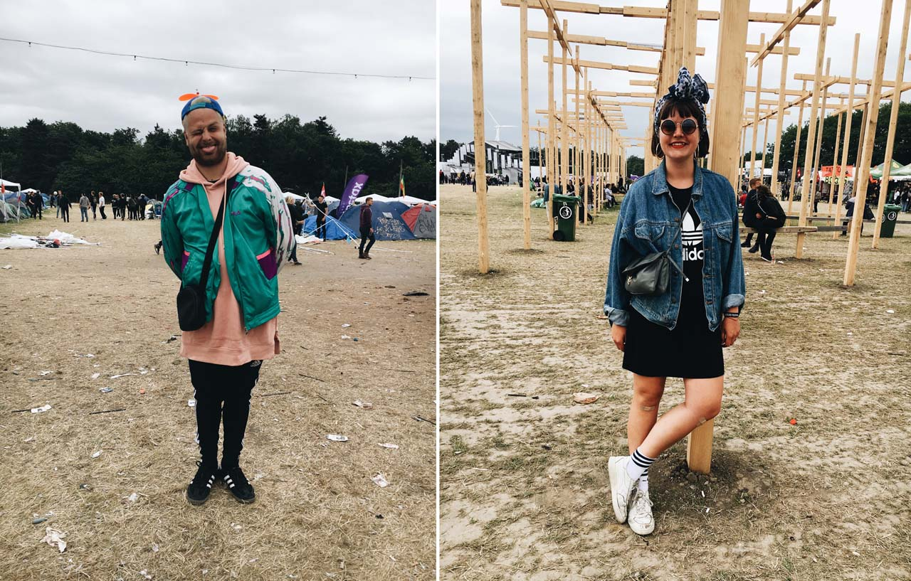 Festival Style at Roskilde 2017 - Magnus & Nanna