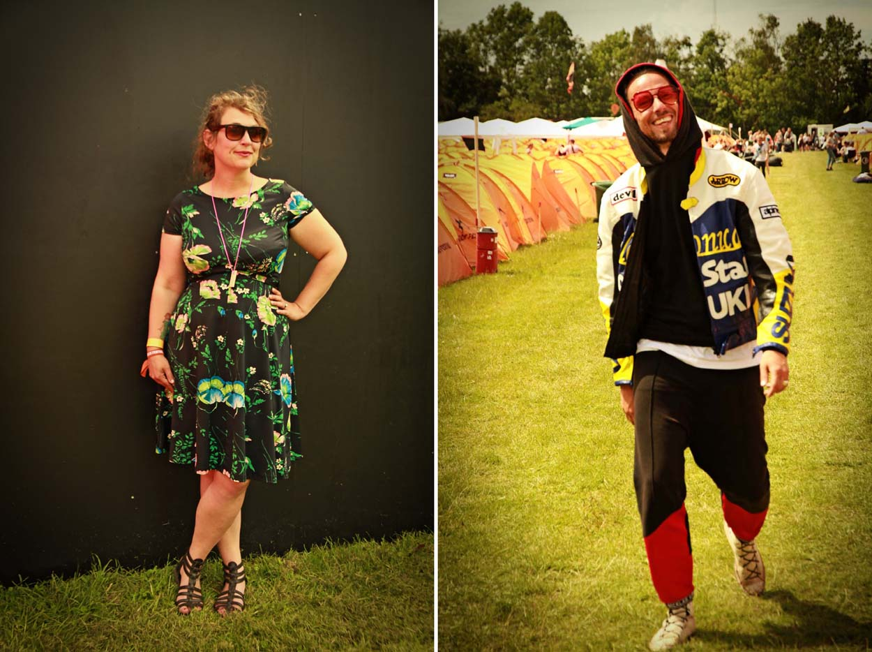 Festival Style at Roskilde 2017 - Mia & Nicklas