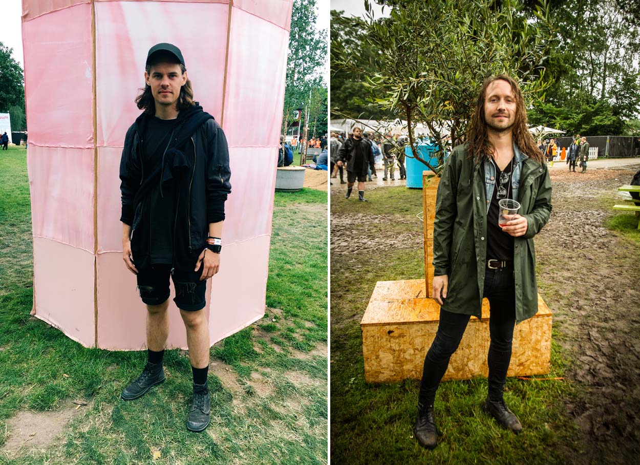 Festival Style at Roskilde 2017 - Mikkel & Nich