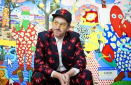 The Rodnik Band's Philip Colbert (AKA The Lobster) Launches New Paintings Solo Show at Saatchi Gallery